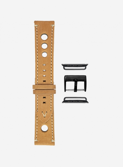 Retrò • Suportlo leather watchstrap for Apple Watch • Genuine English Leather