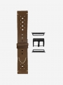 Epoca • Suede leather watchstrap suitable for Apple Watch • Genuine Italian Leather