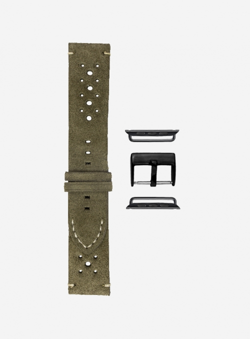 Epoca • Cinturino Apple Watch in scamosciato • Vera Pelle Italiana