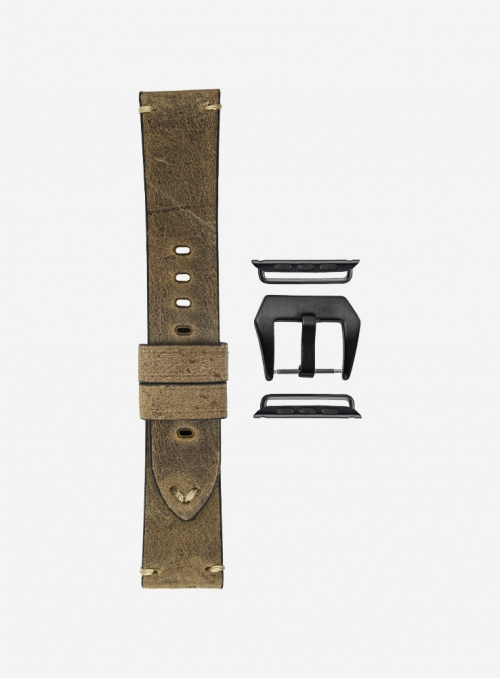 Anteo • Kudu leather watchstrap for Apple Watch • English Leather