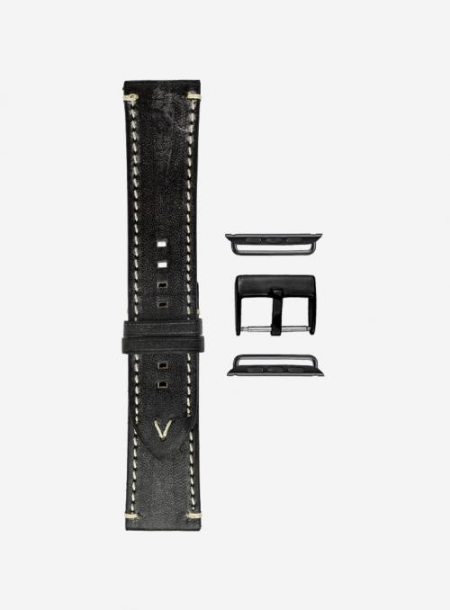 Evo • Cinturino Apple Watch in pelle ingrassata • Vera Pelle Inglese