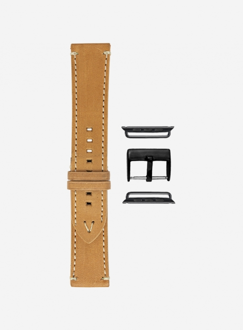 Evo • Suportlo leather watchstrap for Apple Watch • English Leather
