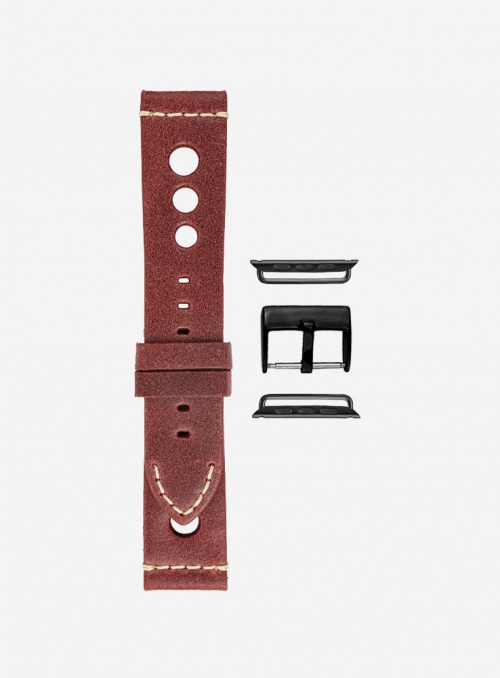 Retrò • Vintage leather watchstrap for Apple Watch • Genuine Italian Leather