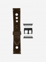 Epoca • Suede leather watchstrap suitable for Apple Watch • Italian Leather