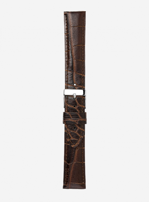 Regenerated leather watchstrap • Italian leather • 550