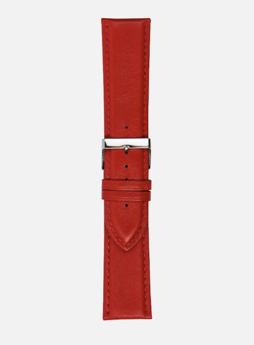 Madras calf leather watchstrap • Italian leather • 662