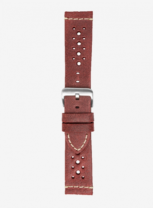 Vintage leather watchstrap • Italian leather • 674SH