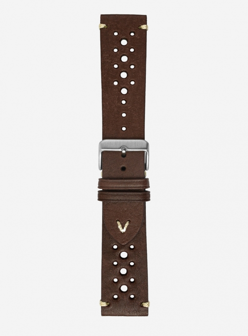 Vintage leather watchstrap • Italian leather • 675SH