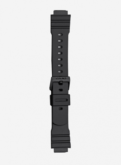 Original CASIO watchband in resin with integrated ends • AW-10