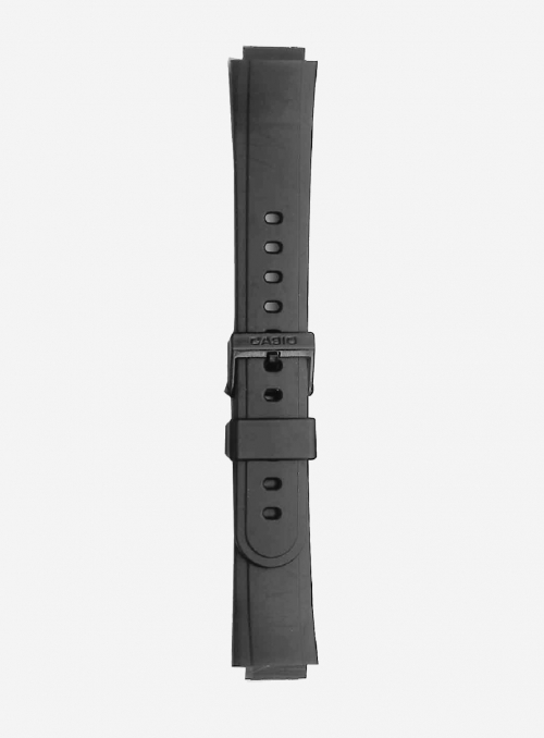 Original CASIO watchband in resin with integrated ends • AW-30