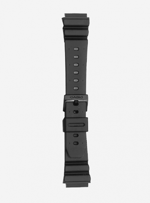 Original CASIO watchband in resin with integrated ends • BM-500