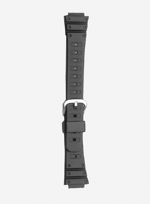 Original CASIO watchband in resin with integrated ends • DW-500