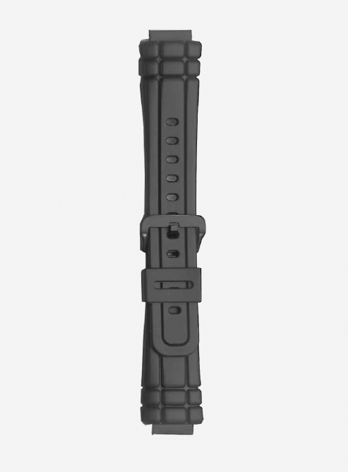Original CASIO watchband in resin with integrated ends • AW-300
