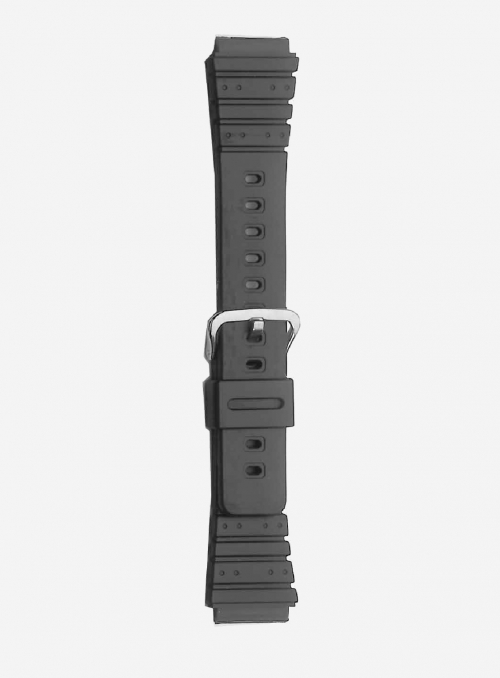 Original CASIO watchband in resin with integrated ends • ARW-300