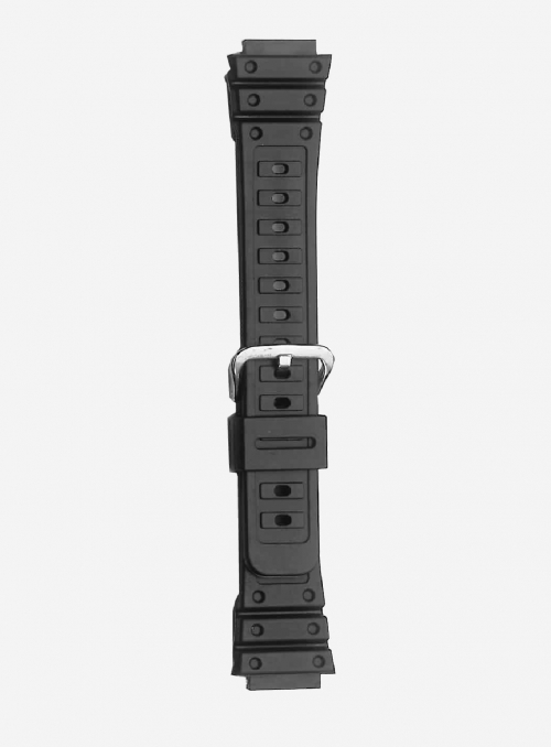 Original CASIO watchband in resin with integrated ends • DW-5000
