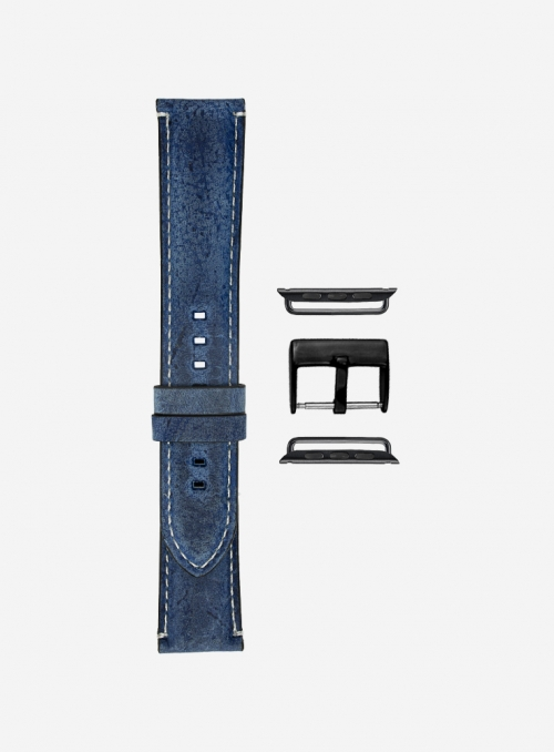 Stravecchio • Cinturino Apple Watch in pelle kudu • Pelle Inglese