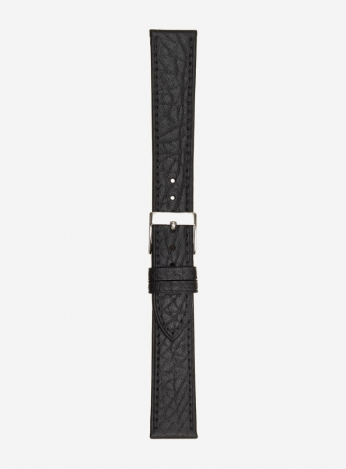 Bull grained calf leather watchstrap • Italian leather • 471