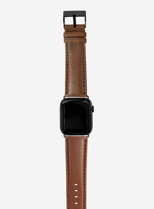 Livingstone • Cinturino Apple Watch in vitello odessa • Pelle Italiana