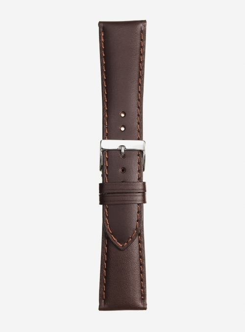 Vacchetta toscana leather watchstrap • Italian leather • 457S