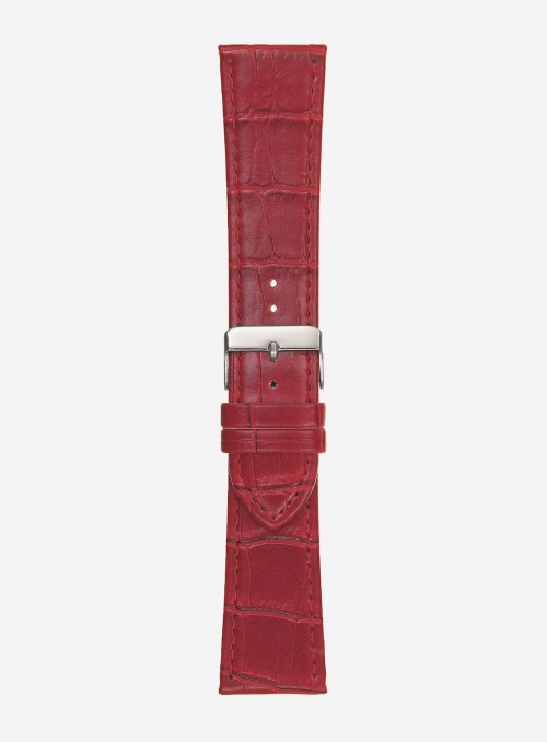 Faux-leather alligator grained watchstrap • 549S