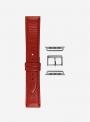 Seta • Genuine seta calf leather watchstrap for Apple Watch • Italian Leather