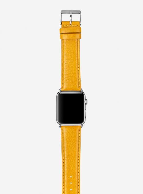 Seta • Cinturino Apple Watch in vitello seta • Pelle italiana