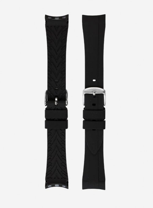 Strap compatible also with Rolex GMT/OYSTER • Elite Silicone • 942