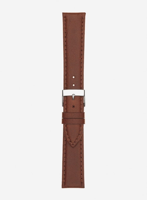 Antelope grained leather watchstrap • Italian leather • 655