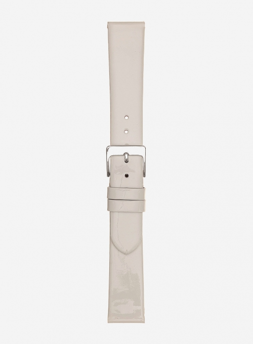 Patent leather watchstrap • Italian leather • 867