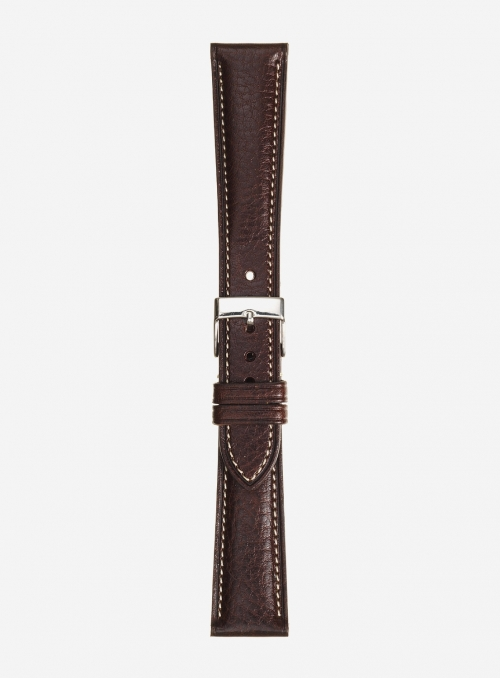 Llama grained leather watchstrap • Italian leather • 448