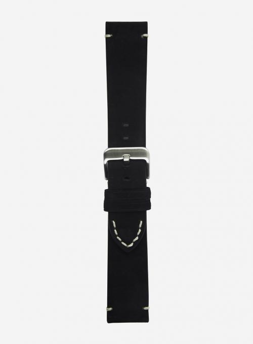 Cinturino in vitello scamosciato • Pelle italiana • 676