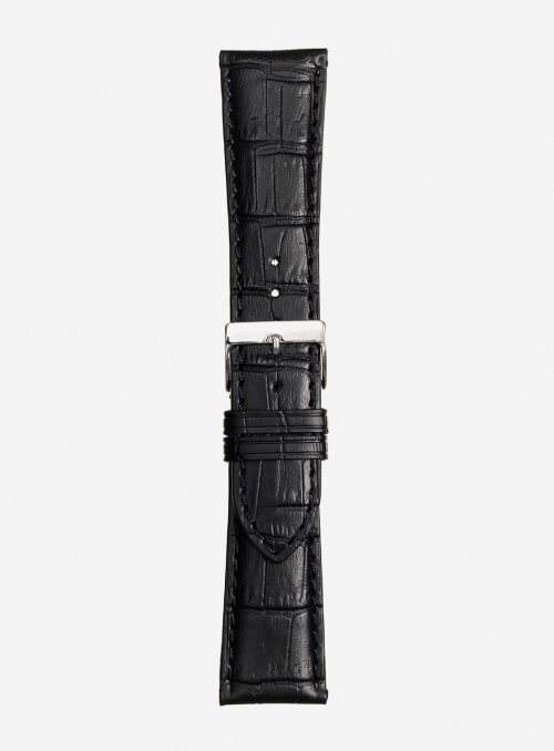 Matt tropical calf leather watchstrap • Italian leather • 469S