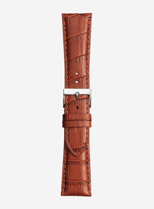 Cinturino in vitello stampa tropical opaco • Pelle italiana • 469S