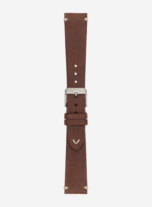 Vintage leather watchstrap • Italian leather • 675