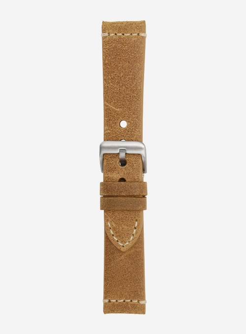 Vintage leather watchstrap • Italian leather • 674