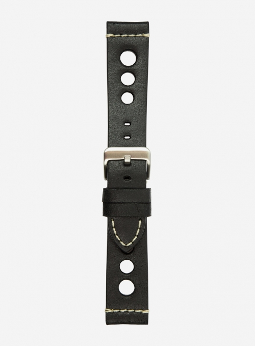 Vintage leather watchstrap • Italian leather • 674F