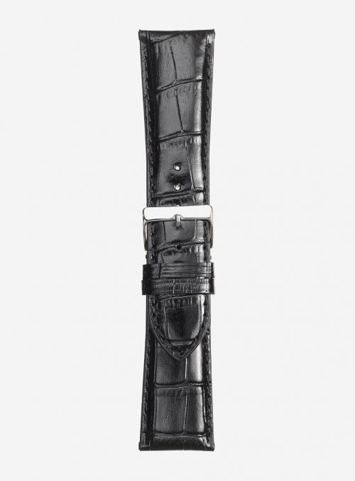 Cinturino in vitello stampa antigua lucido • Pelle italiana • 454S