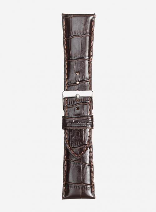 Cinturino in vitello stampa antigua lucido • Pelle italiana • 454SP