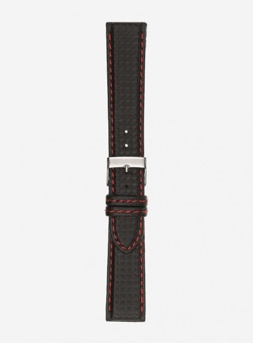 Cinturino in vitello stampa carbonio • Pelle italiana • 861
