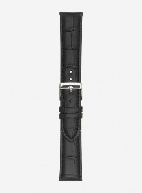 Cinturino in vitello stampa guinea opaco • Pelle italiana • 469
