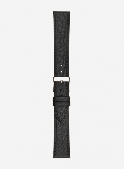 Extra long bull grained calf leather watchstrap • Italian leather • 694SL