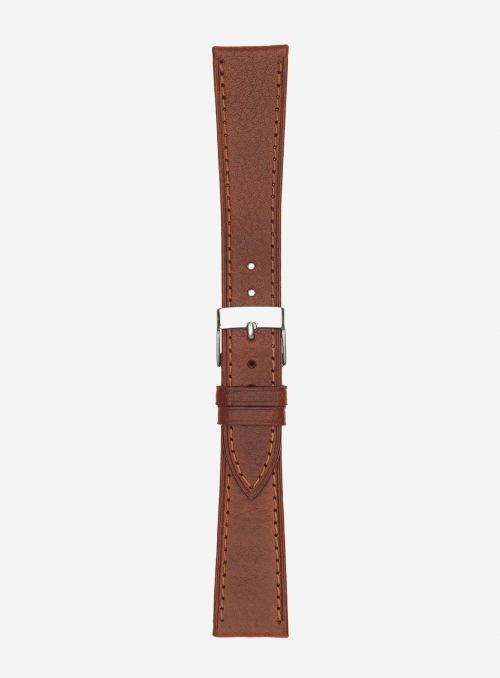 Extra long llama grained calf leather watchstrap • Italian leather • 200SL