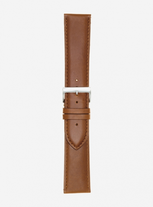 Extra-long vacchetta toscana watchstrap • Italian leather • 457LSL