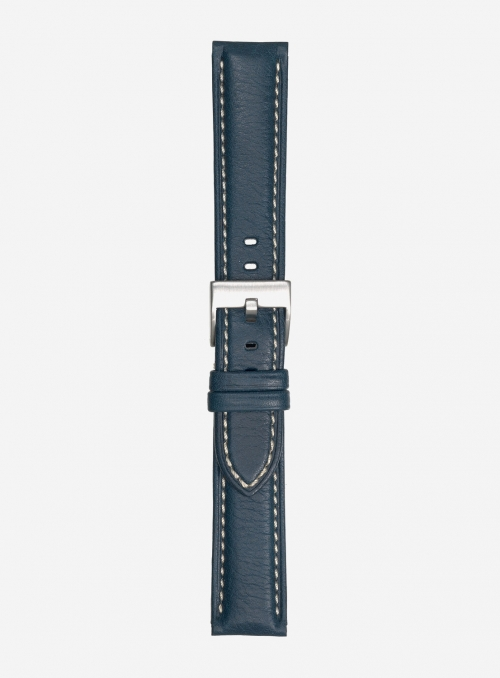 Extra-long odessa calf leather watchstrap • Italian leather • 878SL