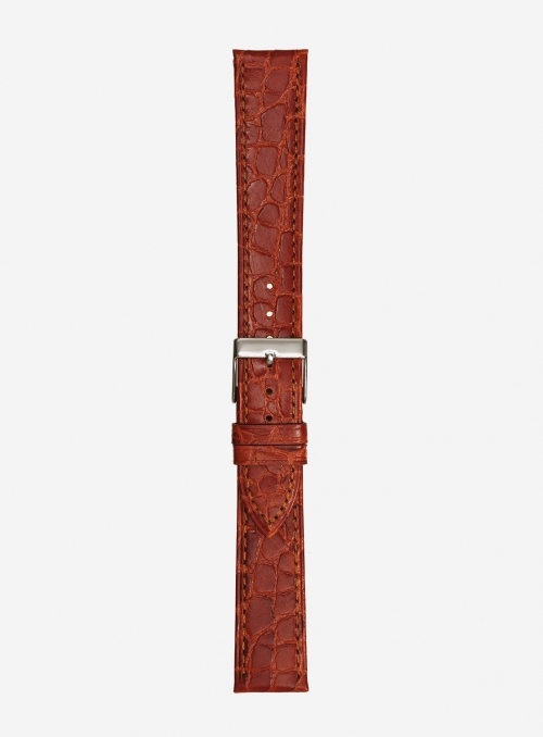 Extra-long manaus calf leather watchstrap • Italian leather • 419SL