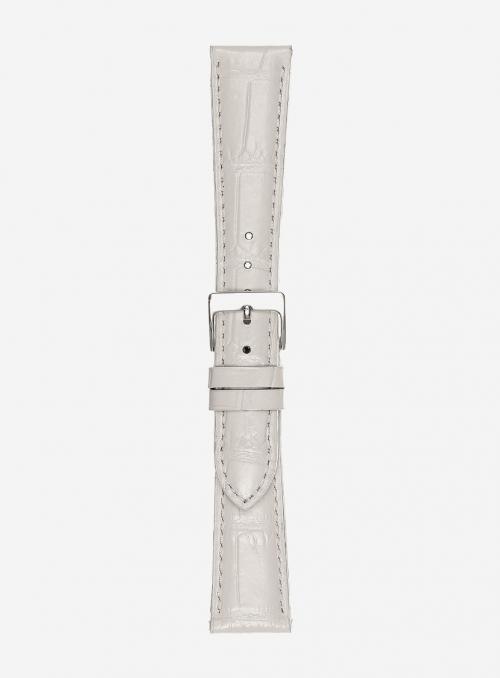 Cinturino in vitello stampa antigua lucido super lungo • Pelle italiana • 454SL