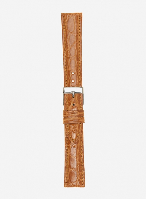 Genuine brasile crocodile watchstrap • 602