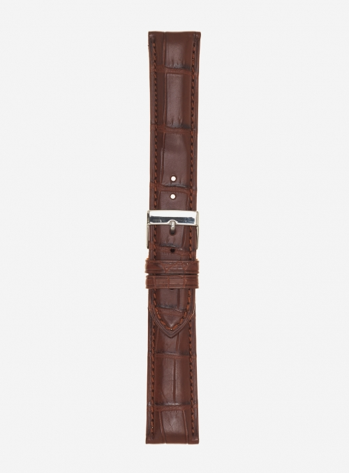 Genuine matt alligator watchstrap • 631