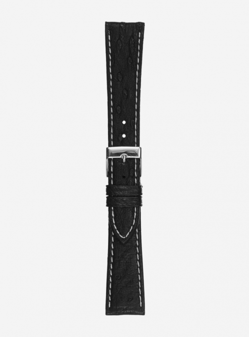 Genuine ostrich watchstrap • 632